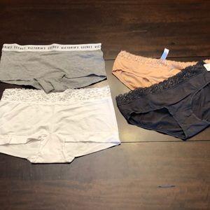 Bundle of 4 pair panties size L.  New.